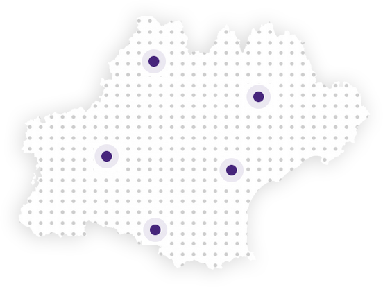 carte région